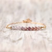 Rainbow Spinel Bracelet Gold Fill Bridesmaid Birthday Jewelry Gemstone Spinel Jewelry Unique Stone Bracelet Delicate Women Bracelet | Natural genuine Gemstone jewelry. Buy crystal jewelry, handmade handcrafted artisan jewelry for women.  Unique handmade gift ideas. #jewelry #beadedjewelry #beadedjewelry #gift #shopping #handmadejewelry #fashion #style #product #jewelry #affiliate #ad