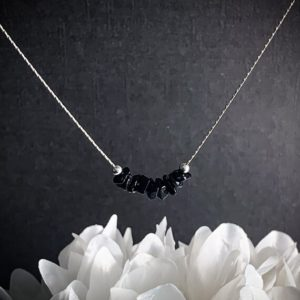 Shop Spinel Jewelry! Raw Spinel, Black Spinel Necklace, Grounding Jewelry, Protection Amulet | Natural genuine Spinel jewelry. Buy crystal jewelry, handmade handcrafted artisan jewelry for women.  Unique handmade gift ideas. #jewelry #beadedjewelry #beadedjewelry #gift #shopping #handmadejewelry #fashion #style #product #jewelry #affiliate #ad