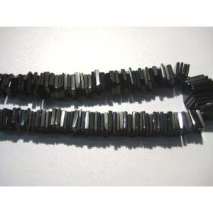 4-5mm Black Spinel Square Heishi Cut Beads, Black Spinel Spacer Heishi Beads, Black Spinel Flat Square Beads (8IN To 16IN Strand)   Natural genuine other-shape Gemstone beads for beading and jewelry making.  #jewelry #beads #beadedjewelry #diyjewelry #jewelrymaking #beadstore #beading #affiliate #ad