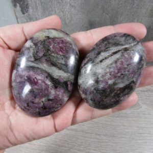 Shop Spinel Stones & Crystals! Spinel Oval Palm Stone E46 | Natural genuine stones & crystals in various shapes & sizes. Buy raw cut, tumbled, or polished gemstones for making jewelry or crystal healing energy vibration raising reiki stones. #crystals #gemstones #crystalhealing #crystalsandgemstones #energyhealing #affiliate #ad