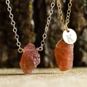 Shop Sunstone Necklaces! Raw Sunstone Necklace – Raw Crystal Necklace – Personalized and Custom Jewelry – Sunstone Jewelry – Reiki – Solar Plexus Gemstone Necklace   Natural genuine Sunstone necklaces. Buy crystal jewelry, handmade handcrafted artisan jewelry for women.  Unique handmade gift ideas. #jewelry #beadednecklaces #beadedjewelry #gift #shopping #handmadejewelry #fashion #style #product #necklaces #affiliate #ad