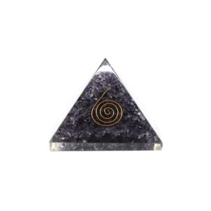 Shop Tanzanite Stones & Crystals! Tanzanite Orgone Pyramid – Orgonite, Emf Protection, Psychic Abilities, Third Eye Chakra | Natural genuine stones & crystals in various shapes & sizes. Buy raw cut, tumbled, or polished gemstones for making jewelry or crystal healing energy vibration raising reiki stones. #crystals #gemstones #crystalhealing #crystalsandgemstones #energyhealing #affiliate #ad