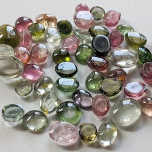 Shop Tourmaline Cabochons! 5-9mm Multi Tourmaline Plain Oval Cabochons, 10 Pcs Multi Tourmaline Flat Back Gemstones, Loose Oval Tourmaline Stones for Jewelry – APH68   Natural genuine stones & crystals in various shapes & sizes. Buy raw cut, tumbled, or polished gemstones for making jewelry or crystal healing energy vibration raising reiki stones. #crystals #gemstones #crystalhealing #crystalsandgemstones #energyhealing #affiliate #ad