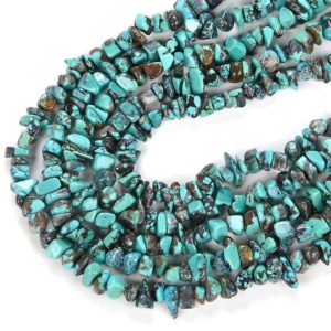 Shop Turquoise Chip & Nugget Beads! 100% Natural Genuine Turquoise Blue Gemstone  Pebble Nugget Chip 6-10MM Beads (D86)   Natural genuine chip Turquoise beads for beading and jewelry making.  #jewelry #beads #beadedjewelry #diyjewelry #jewelrymaking #beadstore #beading #affiliate #ad
