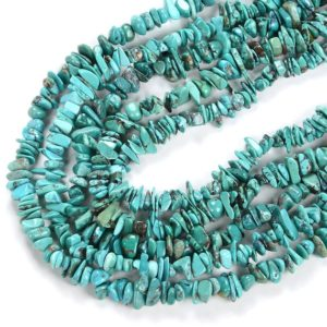 Shop Turquoise Chip & Nugget Beads! 100% Natural Genuine Turquoise Blue Gemstone  Pebble Nugget Chip 5-12MM Beads (D86)   Natural genuine chip Turquoise beads for beading and jewelry making.  #jewelry #beads #beadedjewelry #diyjewelry #jewelrymaking #beadstore #beading #affiliate #ad