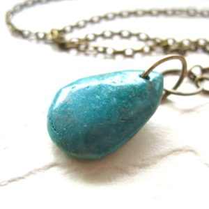 Shop Turquoise Pendants! Turquoise Necklace,Turquoise Stone Slab Statement Chain Necklace,  Handmade Artisan Turquoise Necklace, Pendant Necklace, Gemstone Jewelry   Natural genuine Turquoise pendants. Buy crystal jewelry, handmade handcrafted artisan jewelry for women.  Unique handmade gift ideas. #jewelry #beadedpendants #beadedjewelry #gift #shopping #handmadejewelry #fashion #style #product #pendants #affiliate #ad