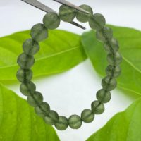 100% Natural Moldavite Bracelet Bead / beautiful Moldavite / genuine Moldavite Tektite / beautiful Piece Raw Moldavite Pendent From Czech Republic | Natural genuine Gemstone jewelry. Buy crystal jewelry, handmade handcrafted artisan jewelry for women.  Unique handmade gift ideas. #jewelry #beadedjewelry #beadedjewelry #gift #shopping #handmadejewelry #fashion #style #product #jewelry #affiliate #ad