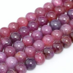 6mm Ruby Beads Grade Aaa Genuine Natural Gemstone Quarter Strand Round Loose Beads 4″ Bulk Lot 1, 3, 5, 10 And 50 (100312hf-285) | Natural genuine round Ruby beads for beading and jewelry making.  #jewelry #beads #beadedjewelry #diyjewelry #jewelrymaking #beadstore #beading #affiliate #ad