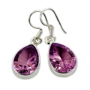Shop Alexandrite Earrings! Incredible Color Change (green To Purple Pink) Alexandrite Earrings Sterling Silver Dangle Earring Jewelry Ae927 | Natural genuine Alexandrite earrings. Buy crystal jewelry, handmade handcrafted artisan jewelry for women.  Unique handmade gift ideas. #jewelry #beadedearrings #beadedjewelry #gift #shopping #handmadejewelry #fashion #style #product #earrings #affiliate #ad