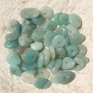 Shop Amazonite Chip & Nugget Beads! 10pc – Stone Beads – Amazonite Chips 8-14mm 4558550018458 Pucks   Natural genuine chip Amazonite beads for beading and jewelry making.  #jewelry #beads #beadedjewelry #diyjewelry #jewelrymaking #beadstore #beading #affiliate #ad