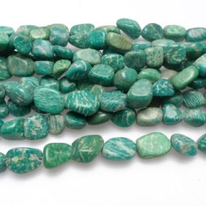 Shop Amazonite Chip & Nugget Beads! green Russian amazonite nugget beads – free from tumbled green gemstone beads – green stone beads – jewelry making supplies   Natural genuine chip Amazonite beads for beading and jewelry making.  #jewelry #beads #beadedjewelry #diyjewelry #jewelrymaking #beadstore #beading #affiliate #ad