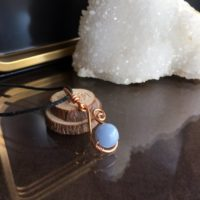 Angelite Necklace, Angelite Jewelry, Angelite Gifts, Angelite Necklaces | Natural genuine Gemstone jewelry. Buy crystal jewelry, handmade handcrafted artisan jewelry for women.  Unique handmade gift ideas. #jewelry #beadedjewelry #beadedjewelry #gift #shopping #handmadejewelry #fashion #style #product #jewelry #affiliate #ad