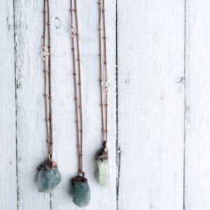 Shop Aquamarine Jewelry! Natural gemstone necklace | Untreated aquamarine jewelry | March birthstone necklace | Raw aquamarine pendant | March birthstone jewelry | Natural genuine Aquamarine jewelry. Buy crystal jewelry, handmade handcrafted artisan jewelry for women.  Unique handmade gift ideas. #jewelry #beadedjewelry #beadedjewelry #gift #shopping #handmadejewelry #fashion #style #product #jewelry #affiliate #ad