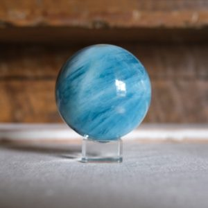 Shop Aquamarine Shapes! Xl Aquamarine Sphere | Beryl Sphere | Crystal Sphere | Natural genuine stones & crystals in various shapes & sizes. Buy raw cut, tumbled, or polished gemstones for making jewelry or crystal healing energy vibration raising reiki stones. #crystals #gemstones #crystalhealing #crystalsandgemstones #energyhealing #affiliate #ad