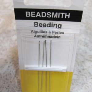 Beadsmith English Beading Needles Size 10   Shop jewelry making and beading supplies, tools & findings for DIY jewelry making and crafts. #jewelrymaking #diyjewelry #jewelrycrafts #jewelrysupplies #beading #affiliate #ad