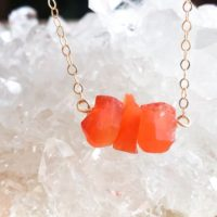 Raw Carnelian Bar Necklace – Raw Stone Necklace – Carnelian Necklace In Silver, Gold Or Rose Gold – Carnelian Jewelry – Chakra Necklace   Natural genuine Gemstone jewelry. Buy crystal jewelry, handmade handcrafted artisan jewelry for women.  Unique handmade gift ideas. #jewelry #beadedjewelry #beadedjewelry #gift #shopping #handmadejewelry #fashion #style #product #jewelry #affiliate #ad