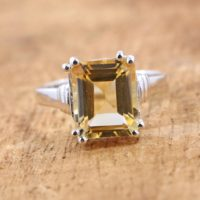 Beautiful 925 Sterling Silver Ring Of Citrine* A November Birthstone Ring* Amazing Citrine Ring* A Perfect Gift   Natural genuine Gemstone jewelry. Buy crystal jewelry, handmade handcrafted artisan jewelry for women.  Unique handmade gift ideas. #jewelry #beadedjewelry #beadedjewelry #gift #shopping #handmadejewelry #fashion #style #product #jewelry #affiliate #ad