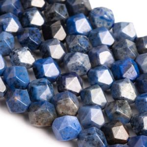 Shop Dumortierite Beads! Genuine Natural Blue Dumortierite Loose Beads Star Cut Faceted Shape 5-6mm 7-8mm 9-10mm | Natural genuine faceted Dumortierite beads for beading and jewelry making.  #jewelry #beads #beadedjewelry #diyjewelry #jewelrymaking #beadstore #beading #affiliate #ad