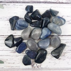 Shop Dumortierite Stones & Crystals! Dumortierite Blue Quartz Tumbled Stones, Reiki Infused Wire Wrapping Self Care Healing Crystals   Natural genuine stones & crystals in various shapes & sizes. Buy raw cut, tumbled, or polished gemstones for making jewelry or crystal healing energy vibration raising reiki stones. #crystals #gemstones #crystalhealing #crystalsandgemstones #energyhealing #affiliate #ad