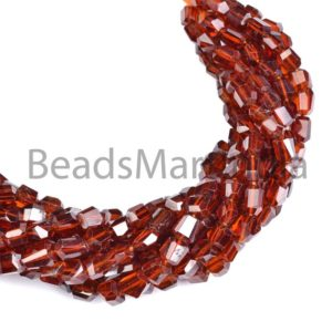Shop Garnet Chip & Nugget Beads! Hessonite Garnet Faceted Nugget Shape Beads, Garnet Nugget Shape Beads, Hessonite Garnet Fancy Nuggets, Hessonite Garnet Faceted Nuggets | Natural genuine chip Garnet beads for beading and jewelry making.  #jewelry #beads #beadedjewelry #diyjewelry #jewelrymaking #beadstore #beading #affiliate #ad