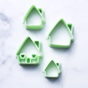 Shop Polymer Clay Cutters & Jewelry Making Tools! Gingerbread House Polymer Clay Cutter | Christmas | Cookie cutter | Laralu Clay | Shop jewelry making and beading supplies, tools & findings for DIY jewelry making and crafts. #jewelrymaking #diyjewelry #jewelrycrafts #jewelrysupplies #beading #affiliate #ad