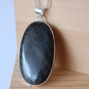 Shop Golden Obsidian Necklaces! Gold Sheen Obsidian, Golden Obsidian, Removal Of Negative Energy, Protective Amulet, Protective Talisman, obsidian Necklace, spiritual Jewelry   Natural genuine Golden Obsidian necklaces. Buy crystal jewelry, handmade handcrafted artisan jewelry for women.  Unique handmade gift ideas. #jewelry #beadednecklaces #beadedjewelry #gift #shopping #handmadejewelry #fashion #style #product #necklaces #affiliate #ad