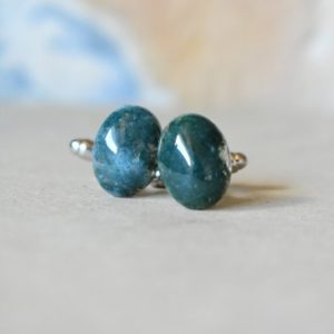 Shop Jade Jewelry! Jade Cufflinks, Rough Green Gemstone Cuff Links, Daily Suit Jewelry For Professional, Gift For Jade Collector, Silver Tuxedo Cufflinks   Natural genuine Jade jewelry. Buy crystal jewelry, handmade handcrafted artisan jewelry for women.  Unique handmade gift ideas. #jewelry #beadedjewelry #beadedjewelry #gift #shopping #handmadejewelry #fashion #style #product #jewelry #affiliate #ad