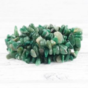 Shop Jade Chip & Nugget Beads! Jade Gemstone Beads, Crystal Chips Bag Of 50 Pieces, Full Strand, Reiki Infused A Extra Grade African Jade Beads | Natural genuine chip Jade beads for beading and jewelry making.  #jewelry #beads #beadedjewelry #diyjewelry #jewelrymaking #beadstore #beading #affiliate #ad