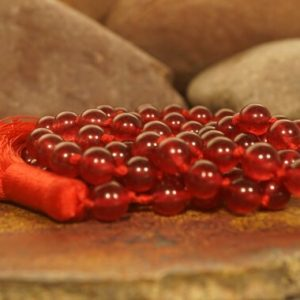 Shop Jade Necklaces! Red Jade Mala • Jade Mala Necklace • Red Jade Necklace • Knotted Mala Beads • Jade Necklace • High Quality Dyed Jade • 6mm • 2086 | Natural genuine Jade necklaces. Buy crystal jewelry, handmade handcrafted artisan jewelry for women.  Unique handmade gift ideas. #jewelry #beadednecklaces #beadedjewelry #gift #shopping #handmadejewelry #fashion #style #product #necklaces #affiliate #ad