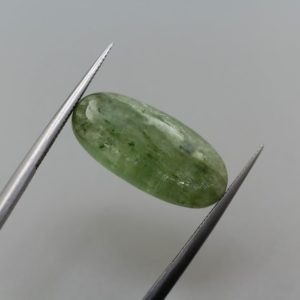 Shop Kyanite Cabochons! Green Kyanite Loose Oval Cabochon Natural Gemstone Pair 21x9mm 10.63ct   Natural genuine stones & crystals in various shapes & sizes. Buy raw cut, tumbled, or polished gemstones for making jewelry or crystal healing energy vibration raising reiki stones. #crystals #gemstones #crystalhealing #crystalsandgemstones #energyhealing #affiliate #ad