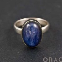 Sterling Silver Kyanite Ring Size 6 | Natural genuine Gemstone jewelry. Buy crystal jewelry, handmade handcrafted artisan jewelry for women.  Unique handmade gift ideas. #jewelry #beadedjewelry #beadedjewelry #gift #shopping #handmadejewelry #fashion #style #product #jewelry #affiliate #ad