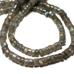 20pc-stone Beads-labradorite Heishi Washers 4mm-8741140012028   Natural genuine other-shape Gemstone beads for beading and jewelry making.  #jewelry #beads #beadedjewelry #diyjewelry #jewelrymaking #beadstore #beading #affiliate #ad