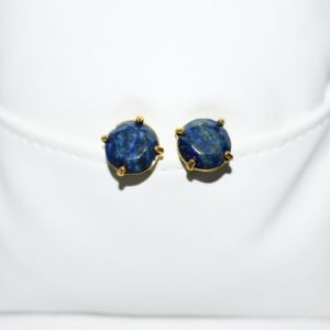 Shop Lapis Lazuli Earrings! Natural Lapis Lazuli Earrings, Stud Earrings, Faceted Lapis Lazuli Post Earrings, Healing Crystal Earrings, December Birthstone Earrings   Natural genuine Lapis Lazuli earrings. Buy crystal jewelry, handmade handcrafted artisan jewelry for women.  Unique handmade gift ideas. #jewelry #beadedearrings #beadedjewelry #gift #shopping #handmadejewelry #fashion #style #product #earrings #affiliate #ad