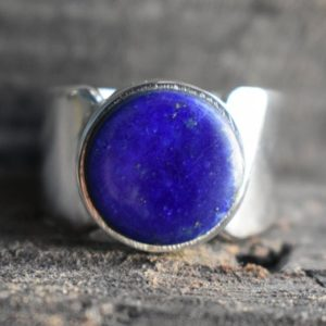 Shop Lapis Lazuli Rings! natural lapis ring,925 silver ring,mens lapis ring,unisex ring,unisex lapis ring,lapis lazuli ring,lapis gemstone ring,gemstone ring | Natural genuine Lapis Lazuli mens fashion rings, simple unique handcrafted gemstone men's rings, gifts for men. Anillos hombre. #rings #jewelry #crystaljewelry #gemstonejewelry #handmadejewelry #affiliate #ad