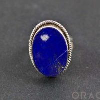 Sterling Silver Lapis Ring Size 6 | Natural genuine Gemstone jewelry. Buy crystal jewelry, handmade handcrafted artisan jewelry for women.  Unique handmade gift ideas. #jewelry #beadedjewelry #beadedjewelry #gift #shopping #handmadejewelry #fashion #style #product #jewelry #affiliate #ad