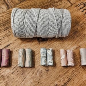 Shop Macrame Jewelry Tools! Large Handcrafted 5cm Tube Macrame Beads | Shop jewelry making and beading supplies, tools & findings for DIY jewelry making and crafts. #jewelrymaking #diyjewelry #jewelrycrafts #jewelrysupplies #beading #affiliate #ad