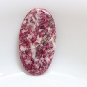 Shop Lepidolite Cabochons! Big Size Pink Lepidolite Cabochon, Healing Crystal, Chakras, Crystal Grid, Crystal, Lepidolite Crystal, Lepidolite Cabochon, Loose stone. | Natural genuine stones & crystals in various shapes & sizes. Buy raw cut, tumbled, or polished gemstones for making jewelry or crystal healing energy vibration raising reiki stones. #crystals #gemstones #crystalhealing #crystalsandgemstones #energyhealing #affiliate #ad