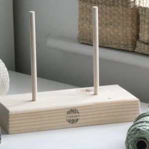 Shop Macrame Jewelry Tools! Macrame Cord Stand, Macrame Rope Holder, Spool Holder, Spool Stand, Craft Roll Holder. Macrame Cord Dispenser. | Shop jewelry making and beading supplies, tools & findings for DIY jewelry making and crafts. #jewelrymaking #diyjewelry #jewelrycrafts #jewelrysupplies #beading #affiliate #ad