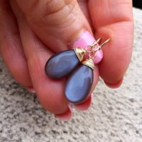 Moonstone Earrings. Brown Natural Gemstones | Natural genuine Gemstone jewelry. Buy crystal jewelry, handmade handcrafted artisan jewelry for women.  Unique handmade gift ideas. #jewelry #beadedjewelry #beadedjewelry #gift #shopping #handmadejewelry #fashion #style #product #jewelry #affiliate #ad