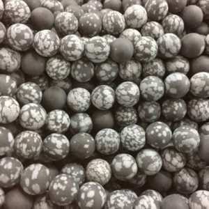 matte snow flake obsidian beads – grey and black beads – jewellery making beads – beads and jewelry supplies-bead supplies wholesale -15inch | Natural genuine beads Gemstone beads for beading and jewelry making.  #jewelry #beads #beadedjewelry #diyjewelry #jewelrymaking #beadstore #beading #affiliate #ad