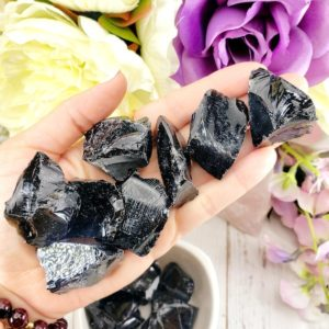 Shop Raw & Rough Obsidian Stones! Black Obsidian, Black Obsidian Crystal, Obsidian Stone, Raw Black Obsidian, Raw Obsidian Crystal, Crystal Healing Root Chakra   Natural genuine stones & crystals in various shapes & sizes. Buy raw cut, tumbled, or polished gemstones for making jewelry or crystal healing energy vibration raising reiki stones. #crystals #gemstones #crystalhealing #crystalsandgemstones #energyhealing #affiliate #ad