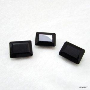 Shop Onyx Shapes! 12x16mm Black Onyx Faceted Octagon Loose Gemstone, Black Onyx Octagon Faceted AAA Quality gemstone, Black Onyx Octagon Faceted Gemstone | Natural genuine stones & crystals in various shapes & sizes. Buy raw cut, tumbled, or polished gemstones for making jewelry or crystal healing energy vibration raising reiki stones. #crystals #gemstones #crystalhealing #crystalsandgemstones #energyhealing #affiliate #ad