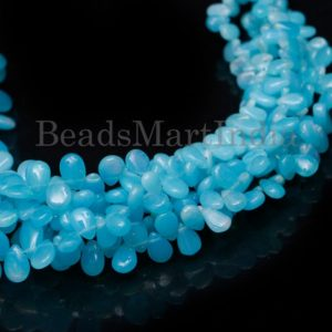 Shop Opal Bead Shapes! Paraiba Opal Beads, Opal Beads, Paraiba Opal Smooth Beads, Paraiba Opal Pear Shape Beads, Paraiba Opal Smooth Pear Shape Beads, Paraiba Opal | Natural genuine other-shape Opal beads for beading and jewelry making.  #jewelry #beads #beadedjewelry #diyjewelry #jewelrymaking #beadstore #beading #affiliate #ad