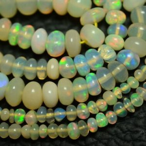 Shop Opal Rondelle Beads! 16 Inches Natural Ethiopian Opal Rondelle 1.5mm To 6.5mm Smooth Rondelles Gemstone Beads Aaa Opal Beads Semi Precious Rondelles No2211   Natural genuine rondelle Opal beads for beading and jewelry making.  #jewelry #beads #beadedjewelry #diyjewelry #jewelrymaking #beadstore #beading #affiliate #ad