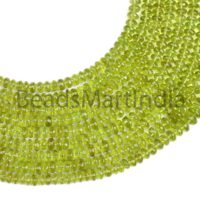 Peridot Faceted Rondelle Shape Beads Necklace, Peridot Rondelle Shape Necklace, Peridot Faceted Beads Necklace, Peridot Rondelle Beads | Natural genuine Gemstone jewelry. Buy crystal jewelry, handmade handcrafted artisan jewelry for women.  Unique handmade gift ideas. #jewelry #beadedjewelry #beadedjewelry #gift #shopping #handmadejewelry #fashion #style #product #jewelry #affiliate #ad