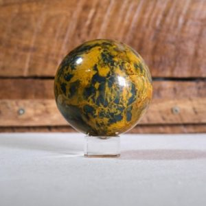 Shop Pietersite Stones & Crystals! Rare Nellite Sphere | New Pietersite Crystal Sphere | Natural genuine stones & crystals in various shapes & sizes. Buy raw cut, tumbled, or polished gemstones for making jewelry or crystal healing energy vibration raising reiki stones. #crystals #gemstones #crystalhealing #crystalsandgemstones #energyhealing #affiliate #ad