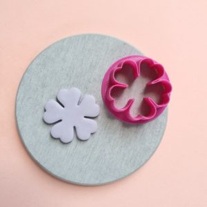 """Shop Polymer Clay Cutters & Jewelry Making Tools! Polymer clay cutter 3D print cutters Jewelry Earrings """"Flower"""" shape plastic cutter 