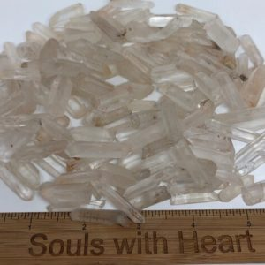 Shop Quartz Points & Wands! Clear Quartz Point, Tiny Point, Jewelry Point, Healing Stone, Healing Crystal, Spiritual Stone, Meditation, Chakra | Natural genuine stones & crystals in various shapes & sizes. Buy raw cut, tumbled, or polished gemstones for making jewelry or crystal healing energy vibration raising reiki stones. #crystals #gemstones #crystalhealing #crystalsandgemstones #energyhealing #affiliate #ad