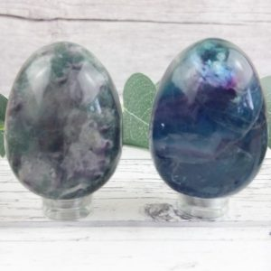 Fluorite Crystal Egg, Reiki Infused Rainbow Fluorite Self Care Healing Crystals, Mindfulness Gift   Natural genuine stones & crystals in various shapes & sizes. Buy raw cut, tumbled, or polished gemstones for making jewelry or crystal healing energy vibration raising reiki stones. #crystals #gemstones #crystalhealing #crystalsandgemstones #energyhealing #affiliate #ad