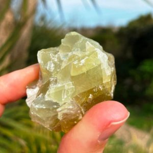 Raw Crystal Prehnite Calcite Chunk, Rough Prehnite Calcite, Healing Raw Calcite, Green Natural Crystal, Prehnite Fairy Stone, Elf Stone Gift   Natural genuine stones & crystals in various shapes & sizes. Buy raw cut, tumbled, or polished gemstones for making jewelry or crystal healing energy vibration raising reiki stones. #crystals #gemstones #crystalhealing #crystalsandgemstones #energyhealing #affiliate #ad